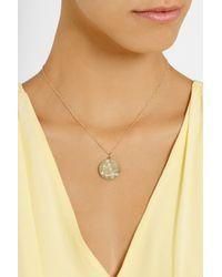 Brooke Gregson - Metallic Capricorn 14-karat Gold Diamond Necklace - Lyst
