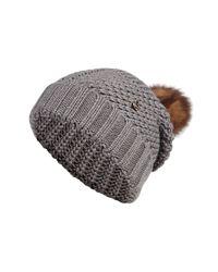Woolrich - Gray Wool Serenity Hat for Men - Lyst