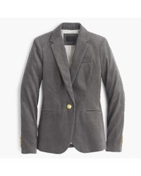 J.Crew | Gray Tall Campbell Blazer In Corduroy | Lyst