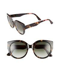 TOMS - Black 'luisa' 54mm Retro Sunglasses - Lyst