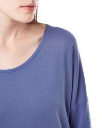 Jaeger | Blue Jersey Kimono Sleeve Top | Lyst