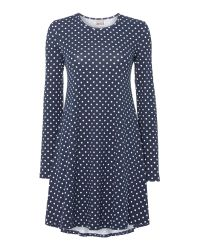 Vero Moda | Blue Long Sleeved Swing Dress | Lyst