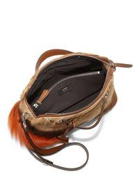 Fendi - Brown By The Way Small Fur Satchel - Lyst