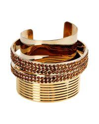 Vionnet | Metallic Bracelet | Lyst