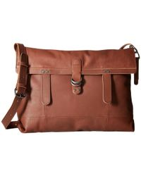 Lucky Brand | Brown Dempsey Messenger | Lyst