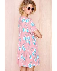 Nasty Gal   Multicolor Lazy Oaf Sunglasses Dress   Lyst
