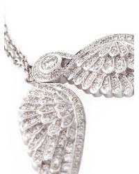 Garrard   Metallic Diamond Wings Bracelet   Lyst
