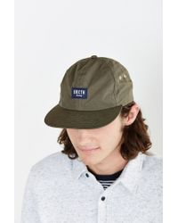 Brixton - Green Hoover Ii Strapback Hat for Men - Lyst