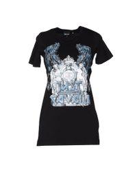 Just Cavalli   Black T-shirt   Lyst