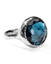 Ippolita | Metallic Lollipop London Blue Topaz Ring for Men | Lyst