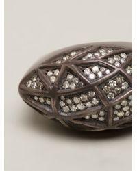 Kelly Wearstler - Metallic Champagne Diamond Encrusted Ring - Lyst