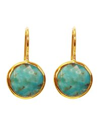 Margaret Elizabeth | Blue Drop Earrings, Turquoise | Lyst