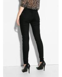 Mango | Black Skinny Paty Jeans | Lyst