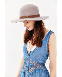 Brixton - Natural Magdalena Wool Hat - Lyst