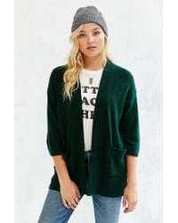 Silence + Noise | Green Claire Cardigan | Lyst