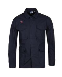 e5f6540389a Edwin Navy Corporal Souvenir Jacket in Blue for Men - Lyst
