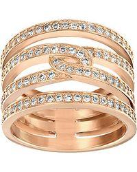Swarovski - Pink Creativity Ring - Lyst
