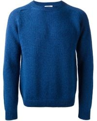 Valentino - Blue Knit Sweater for Men - Lyst