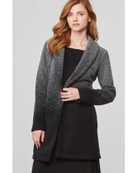 BB Dakota - Black Evan Ombre Woolen Coat - Lyst
