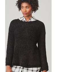 BB Dakota - Black Cella Velour Sweater - Lyst