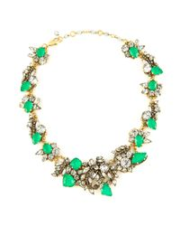 Erickson Beamon | Green Safari Necklace | Lyst