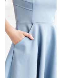 Kimchi Blue - Blue Camrin Fit + Flare Dress - Lyst