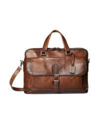 Frye   Brown Olive Two Handle for Men   Lyst
