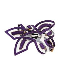 Shourouk - Purple Brooch - Lyst