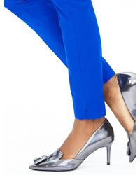 Banana Republic | Blue Sloan-fit Slim Ankle Pant | Lyst