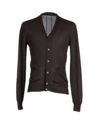 Paolo Pecora | Brown Cardigan for Men | Lyst