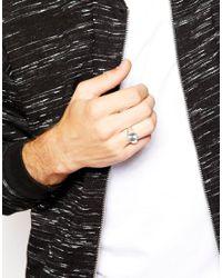 Seven London   Metallic Signet Ring In Sterling Silver for Men   Lyst