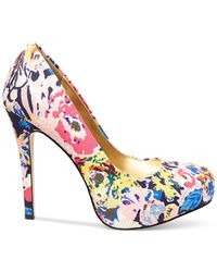 Madden Girl | Multicolor Hollisss Platform Pumps | Lyst