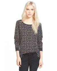 Hinge - Gray Print Pullover Sweatshirt - Lyst