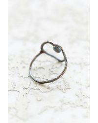 Rachel Pfeffer - Metallic Designs Drip Heart Ring - Lyst