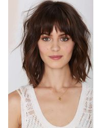 Nasty Gal - Metallic Arroyo Cactus Necklace - Lyst