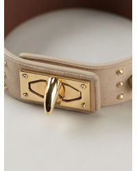 Givenchy | Natural Twist Lock Bracelet | Lyst
