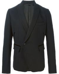 Haider Ackermann - Black Contrasting Trim Blazer for Men - Lyst