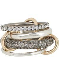 Spinelli Kilcollin | Metallic vega Sg Pave Ring | Lyst
