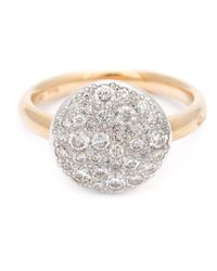 Pomellato - Metallic Diamond Pavé Ring - Lyst