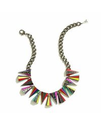 Sarah Magid | Black Prankster Necklace, Neon | Lyst