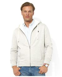 Polo Ralph Lauren | Gray Classic Fleece Hoodie for Men | Lyst