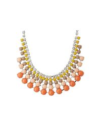 Fossil - Multicolor Colorful Cup Chain Bauble Necklace - Lyst