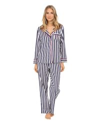 Betsey Johnson | Blue Flannel Pajama | Lyst