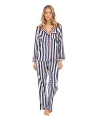Betsey Johnson | Blue Flannel Pajama | Lyst