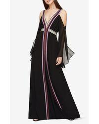 BCBGMAXAZRIA   Black Runway Yasmina Dress   Lyst