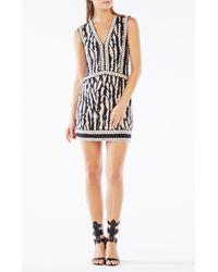BCBGMAXAZRIA | Black Bridgit Animal Print Tunic Dress | Lyst