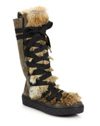 saks moncler boots