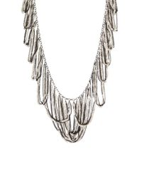 BCBGMAXAZRIA | Metallic Looped Fringe Necklace | Lyst