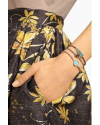 Brooke Gregson - Metallic 18karat Gold Silk and Opal Bracelet - Lyst