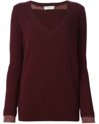 Paul by Paul Smith - Red Double Cuff Sweater - Lyst